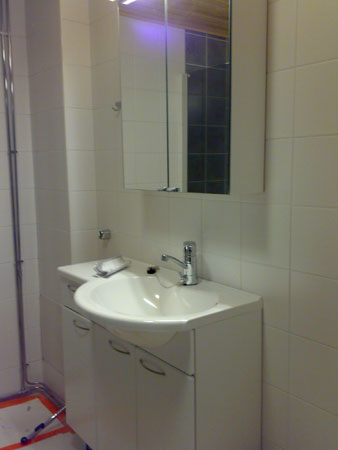 Bathroom again