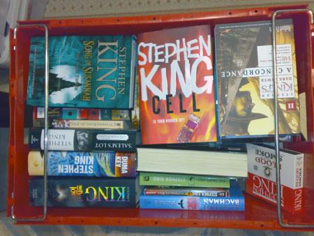 Box of King books