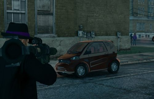Emu in Saints Row the Third